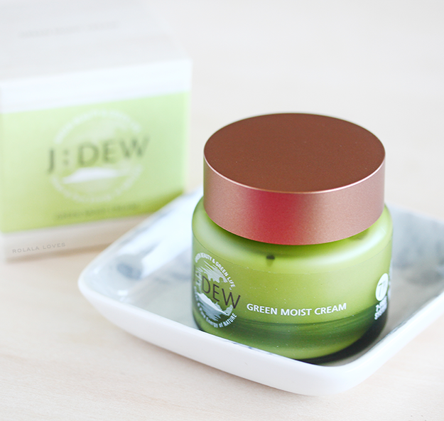 J:Dew Green Moist Cream Review, J:Dew Green Moist, Q-Depot
