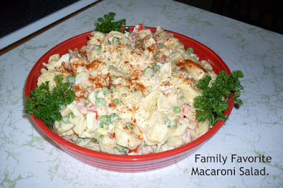 Family Favorite Macaroni Salad.Delicious!