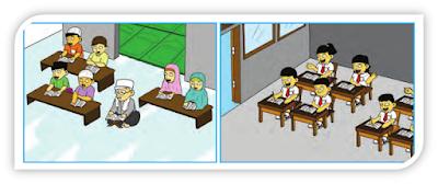semester genap dan kunci balasan yaitu wacana  Ulangan Harian PAI dan BP Kelas 5 Bab Teladan Luqman Semester 2