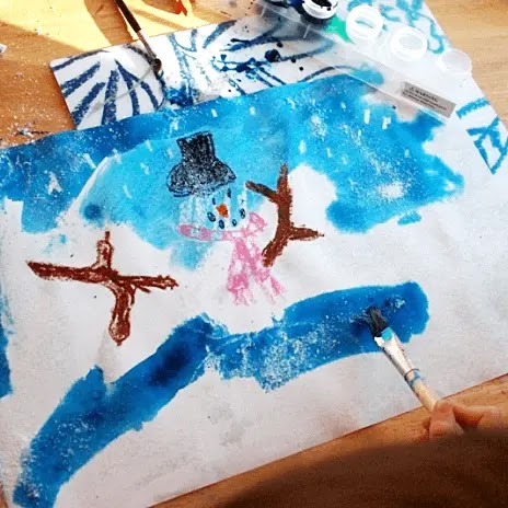 Snow by Cynthia Rylant. Book review and free follow-up writing and art activities for K-2.