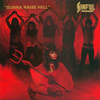"""Ο δίσκος των Sinful """"Gonna Raise Hell"""""""
