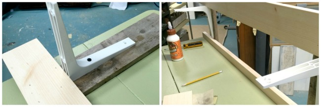 Using an Old Table to Create a Potting Bench www.homeroad.net