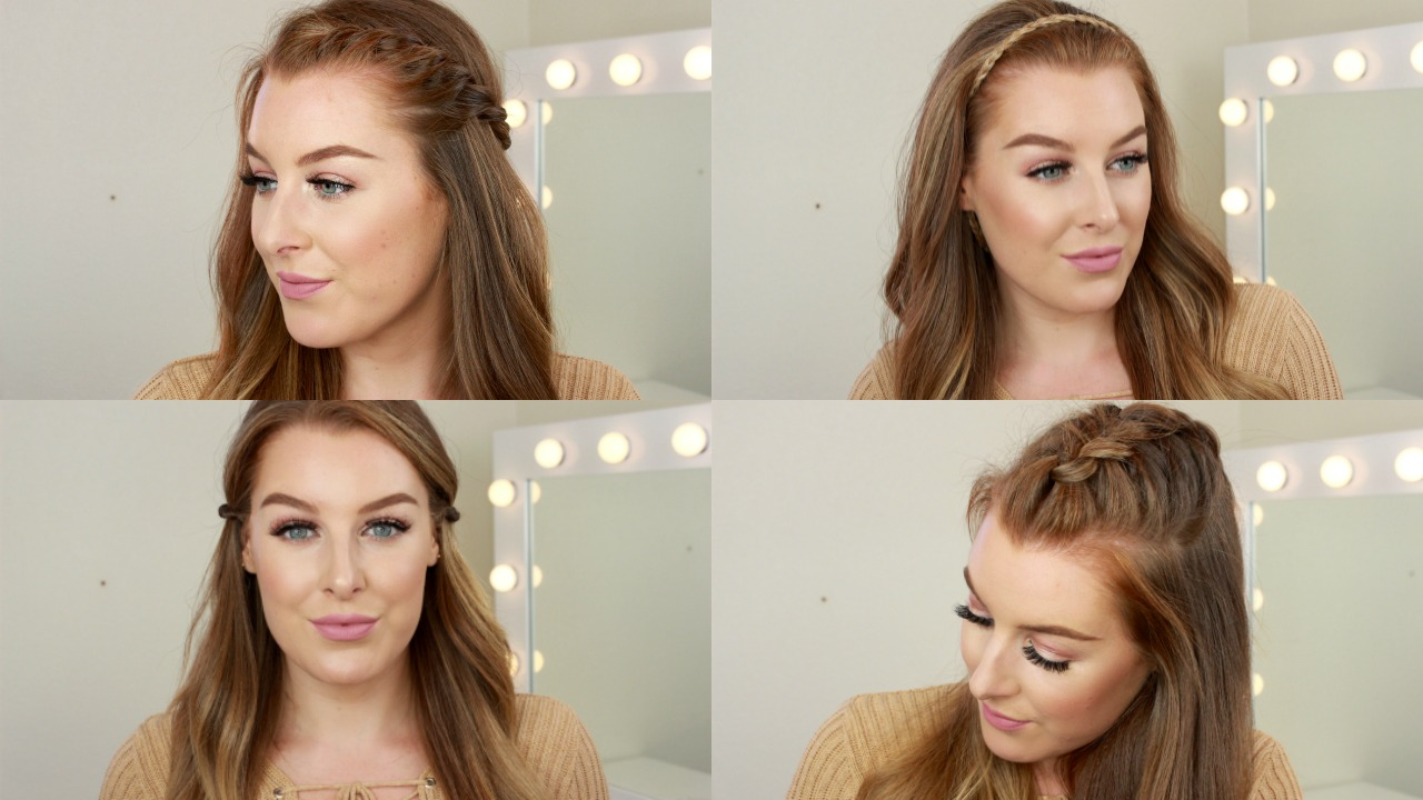 4 Quick and Easy Hairstyles