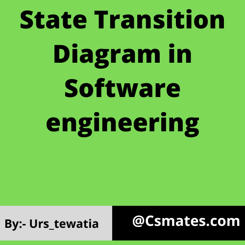 state transition diagram in software engineering