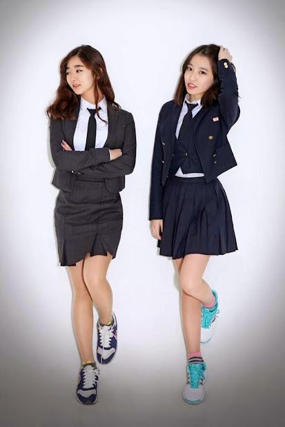 korean school uniform - official