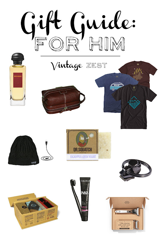 Gift Guide: For Him!
