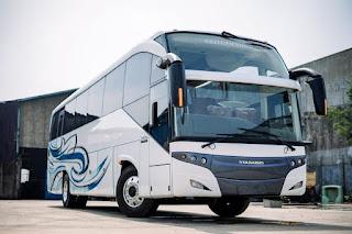 Penampakan Bus Baru Berbody Coach Enterprise Buatan Karoseri Stadabus Dari Bandung