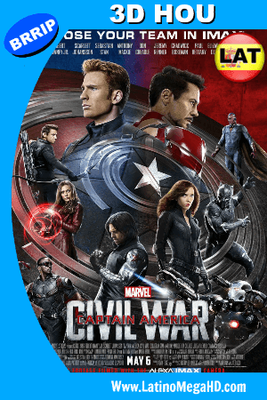 Portada Civil War 3D HOU