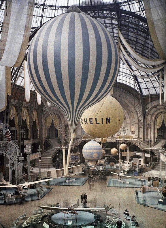 París, 1914: Raras imagenes en color revelan como la capital lucía hace 100 años
