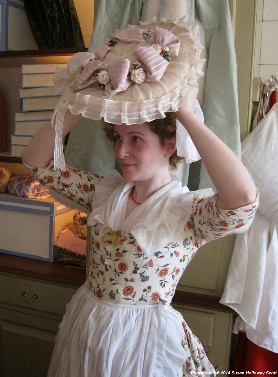 Two Nerdy History Girls  18th c. Caps   Hats from the Milliner s ... 1032b0eb7a2