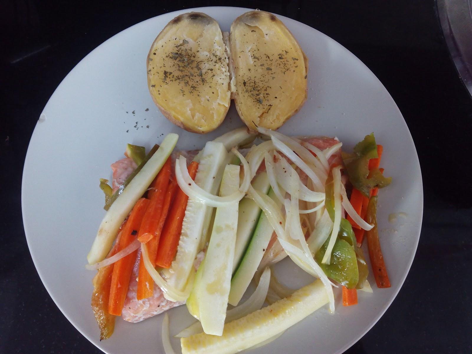 Cocina con rachel salm n a la papillote - Racholas cocina ...