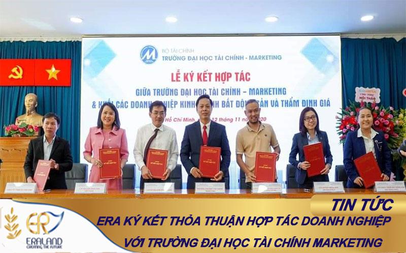ERALAND ký kết hợp tác doanh nghiệp và trường UFM