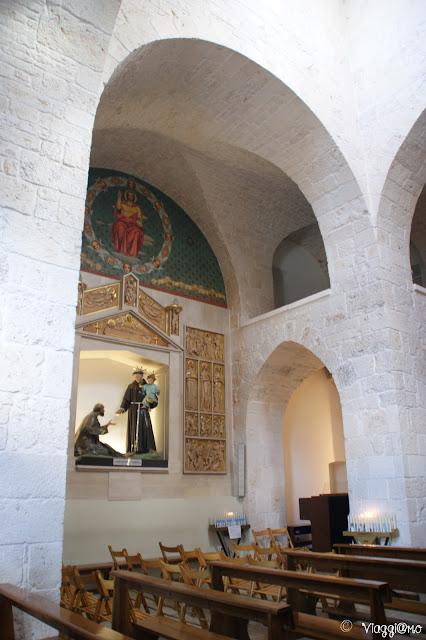 Interno della Chiesa di Sant'Antonio, chiesa Trullo