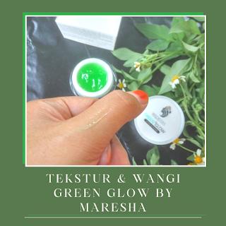 green glow extra glowing by maresha