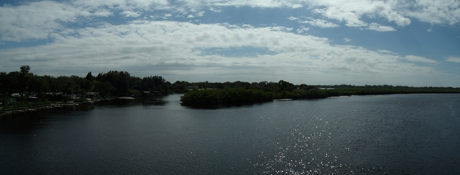 Little Manatee River desde la carretera