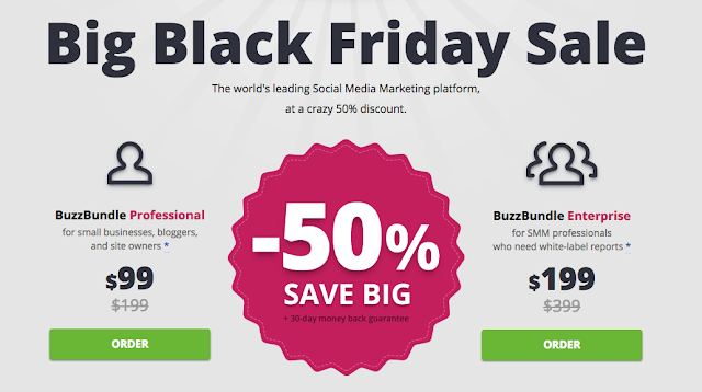 BuzzBundle Black Friday Deal: 50% Special Discount : eAskme