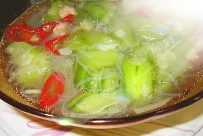 Resepi Sup Petola Dengan Suhun