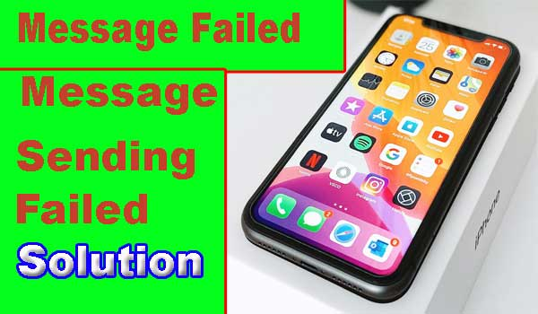 Solve Message Sending Failed on Android