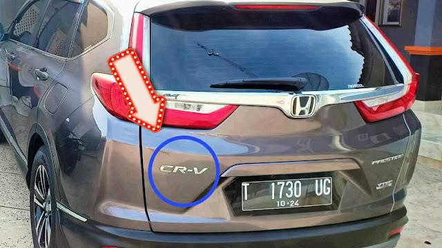 Honda CRV memiliki arti Comfortable Runabout. Vehicle
