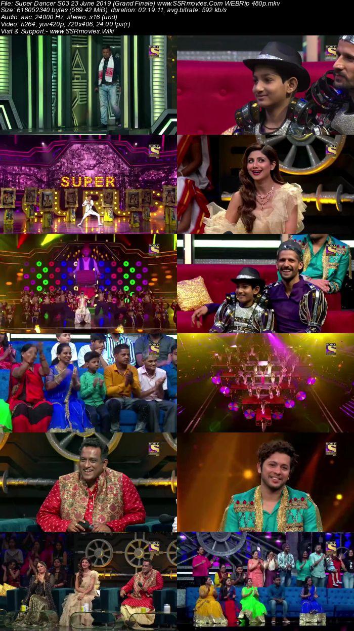 Super Dancer S03 23 June 2019 (Grand Finale) Full Show Download 480p 720p HDTV WEBRip HDRip