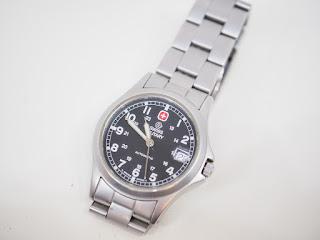 スイスミリタリーの腕時計をお買い取り致しました