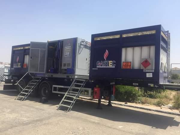 وزارة البترول : لاول مره توفر محطة متنقلة  لتموين السيارات بالغاز الطبيعي