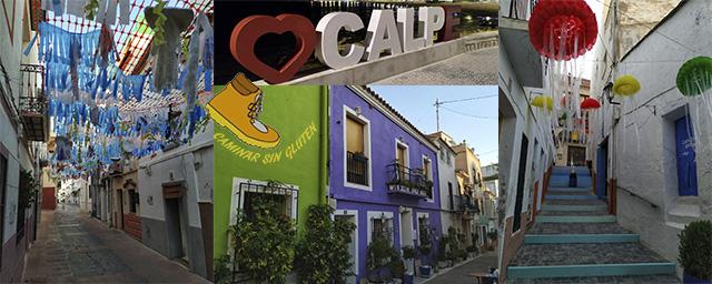 CAMINAR POR EL CASCO ANTIGUO DE CALPE
