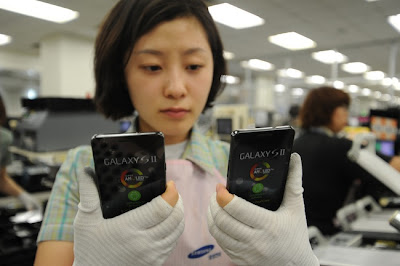 Samsung Galaxy S2 10% da população da Coréia do Sul tem um 3