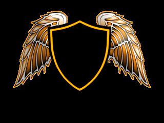 Logo Polos Perisai Menggunakan Sayap