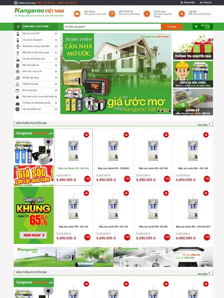 Templates blogspot bán máy lọc nước - Ảnh 1