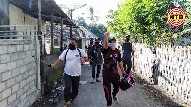 Kesigapan Pemerintah Desa Anjani Cegah Corona Diapresiasi Warganya