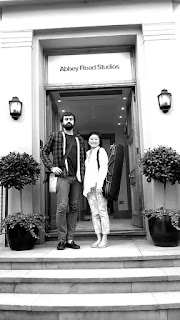 Daniele Rinaldo & Lisa Ueda at Abbey Road Studios