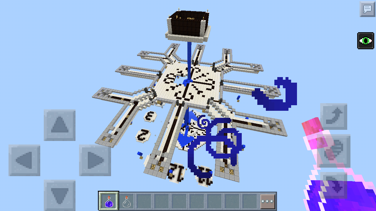 how to change time in minecraft pe