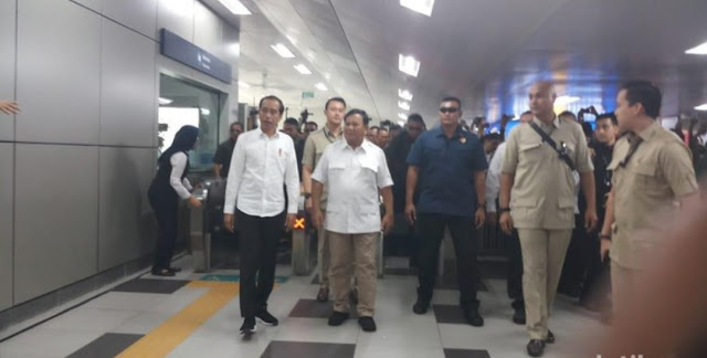 Bertemu Prabowo, Jokowi: Tak Ada Lagi Cebong-Kampret, yang Ada Garuda Pancasila
