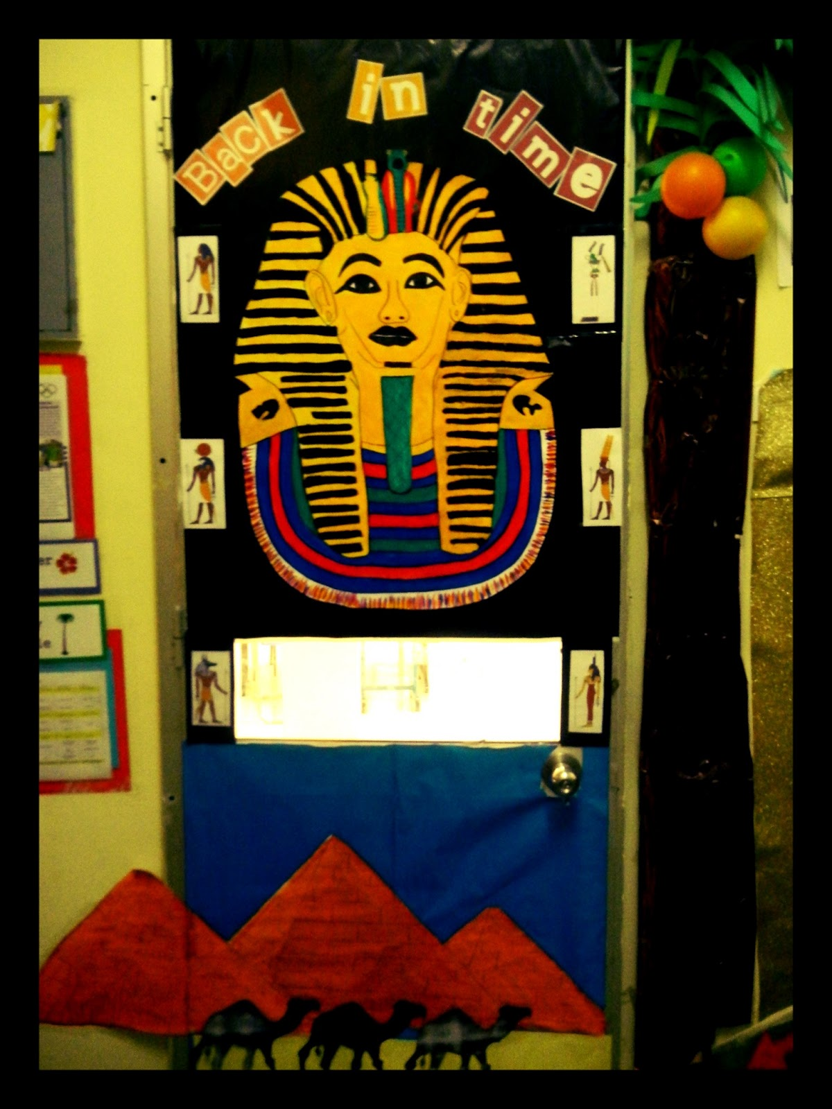 The Cultural Classroom: Door Decorations