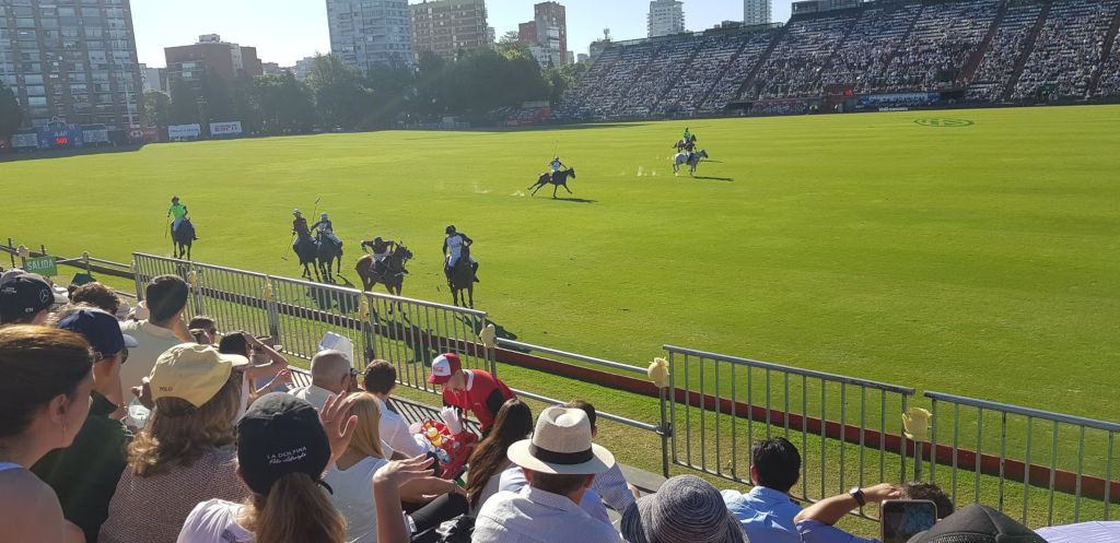 Polo in Palermo, Buenos Aires in Argentinië