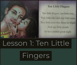 Lesson 1 | Ten Little Fingers | Class 3 | English | Questions | Answers | SCERT | ASSAM