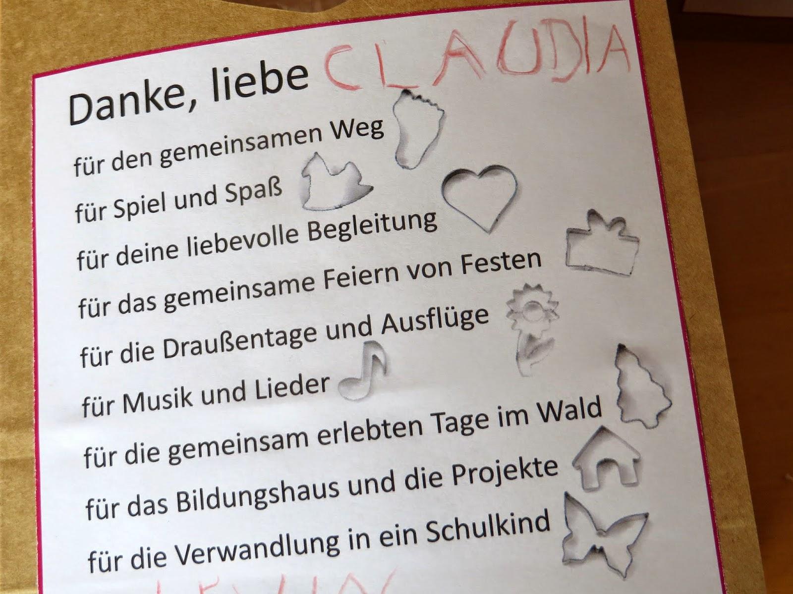 Bodenseewellen abschiedsgeschenke for Kurzer spruch abschied kindergarten