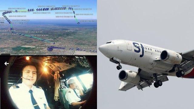 Penyebab Jatuhnya Sriwijaya Air SJ-182 Mulai Terungkap, Pesawat Disebut Pindah Jalur & Disorientasi