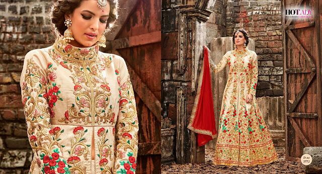 Buy Online Heavy Designer Salwar Suit Collection 2017 For Wedding
