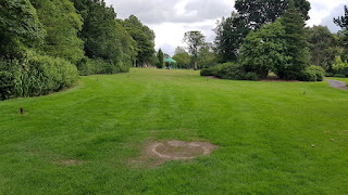 Putting at Queens Park in Burnley