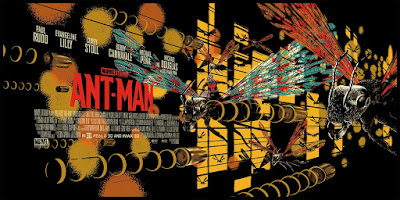 New York Comic Con 2017 Exclusive Ant-Man Movie Poster Screen Print by Raid71 x Grey Matter Art x Marvel