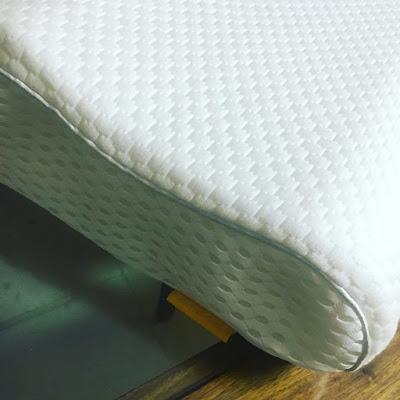 Almohada cervical, uttu, almohada terapéutica, almohada, viscoelastica, ajustable, erogomica, bambú, dolor cervical,
