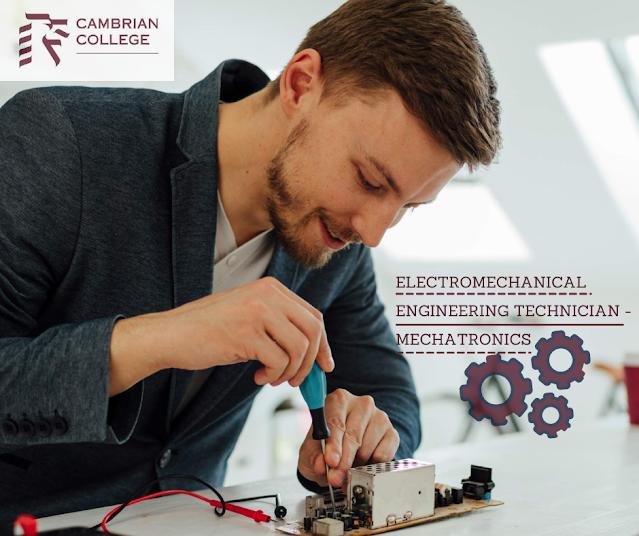 Electromechanical Engr Technician-Mechatronics - Cambrian College