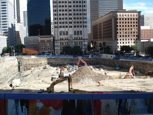 "Wilshire Grand ""Construction"" Update"