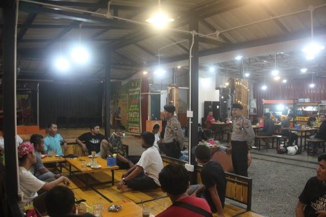 Satgas Pencegahan Operasi Aman Nusa Ii Seligi 2020 Beri Himbauan Kepada Masyarakat Di Wilayah Batu Aji, Kota Batam