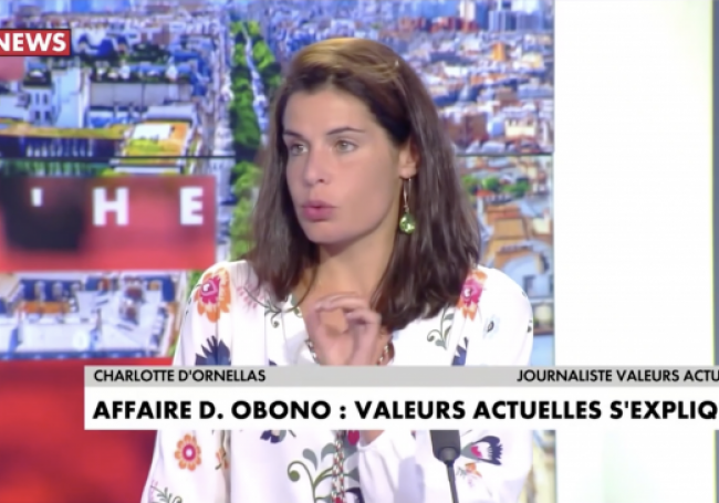 VIDÉO - Charlotte d'Ornellas : «Obono met l'Occident au banc des accusés en permanence...!»