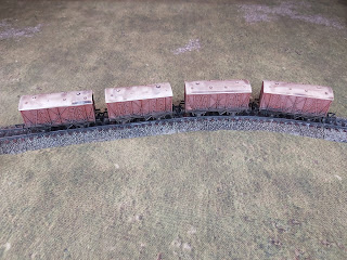 Rolling stock to be used as scenery for wargaming