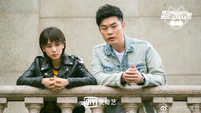 Bureau of Transformer science fiction drama Chen He Olivia Wang