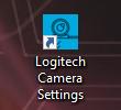 Shortcut aplikasi logitech webcam setelah di install di komputer